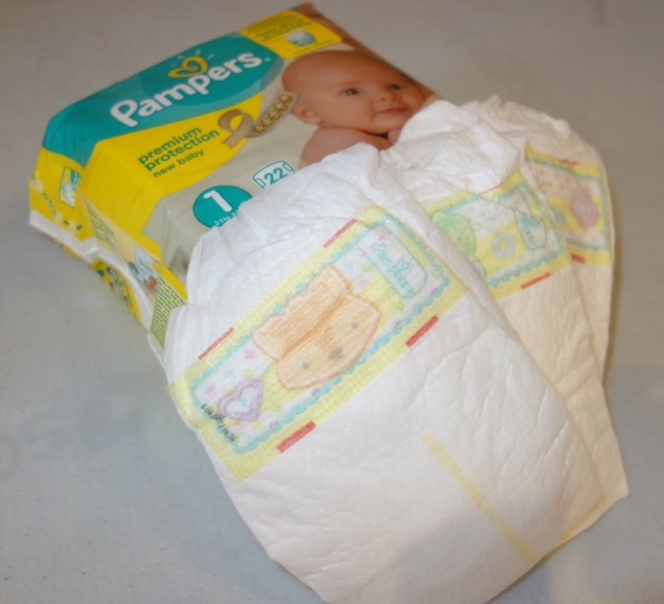 Pampers protection paby