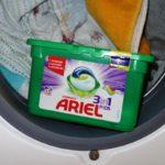 Ariel 3in1 Pods im Test – strahlende Wäsche garantiert