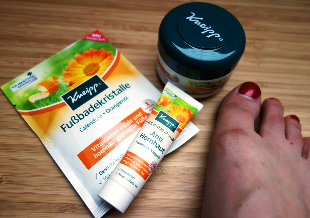 Kneipp Fußpflegeserie