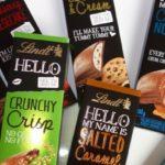 Neu von Lindt Hello: Crunchy Crisp