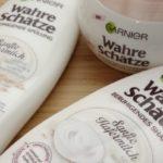 Shampoo-Produkttest: Wahre Schätze Sanfte Hafermilch von Garnier