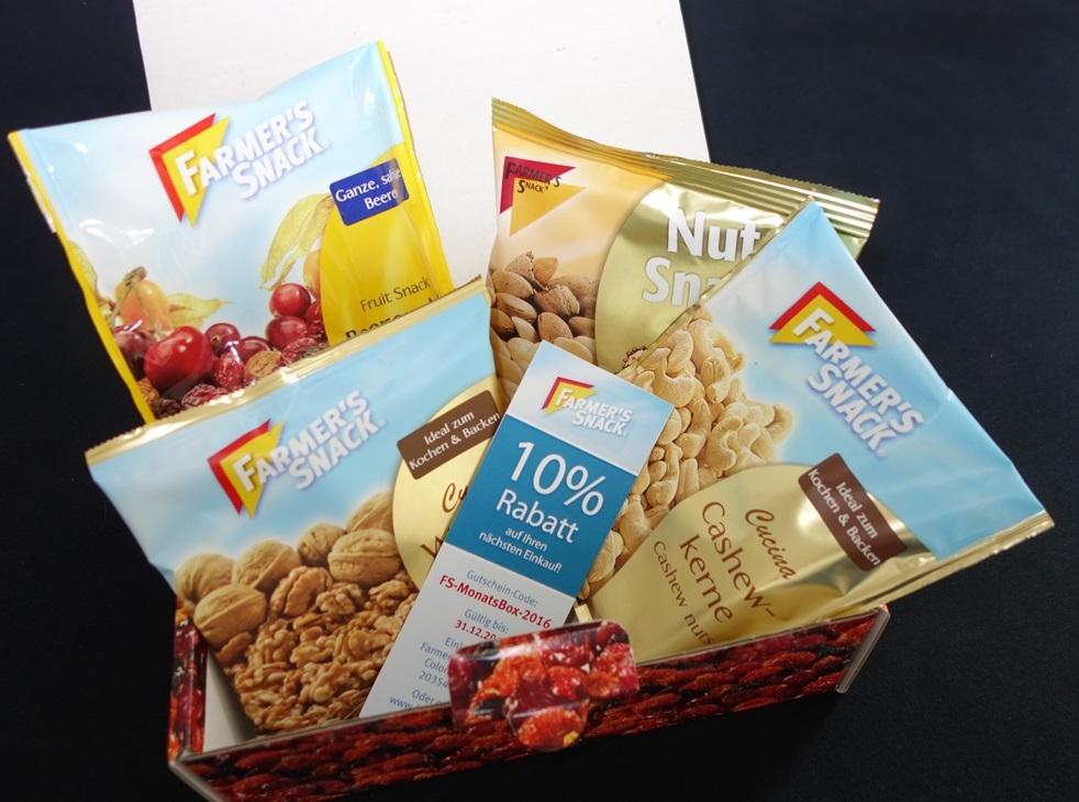 Backzeit-Box von Farmer´s Snack