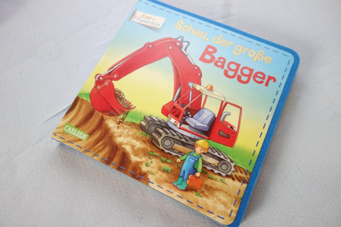 Buch Schau, der große Bagger