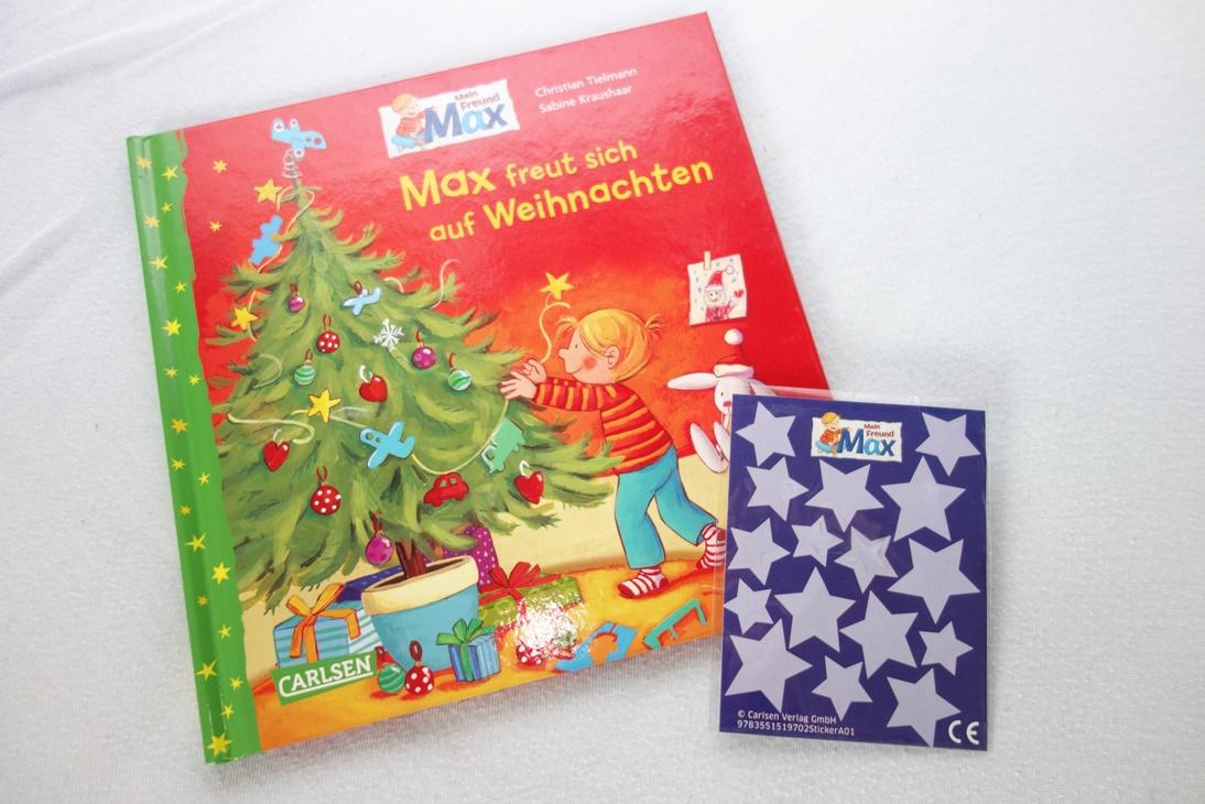 Buch Max freut sich auf Weihnachten