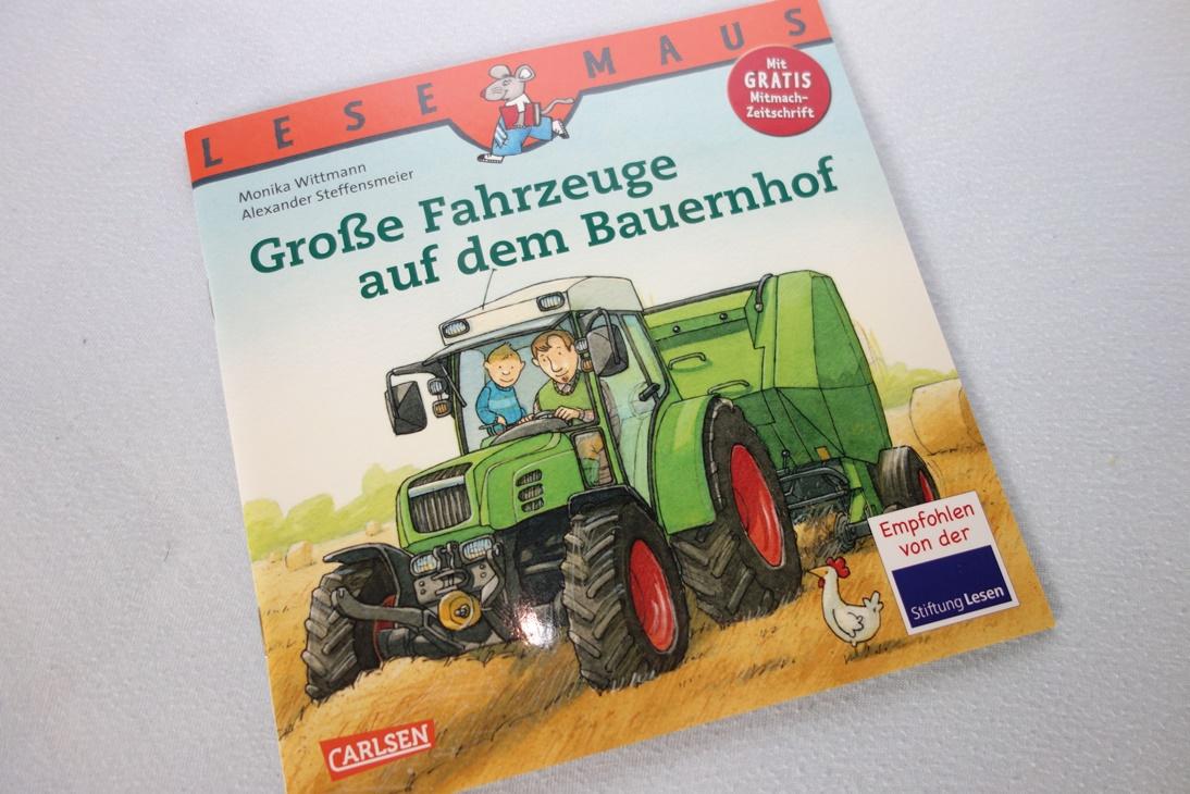 Buch Große Fahrzeuge auf dem Bauernhof