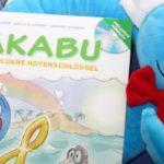 """Bilder- und Hörbuch """"Bakabu und der goldene Notenschlüssel"""" in der Vorstellung"""