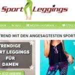 Shopvorstellung Sport Leggings in allen Farben, Formen und Größen