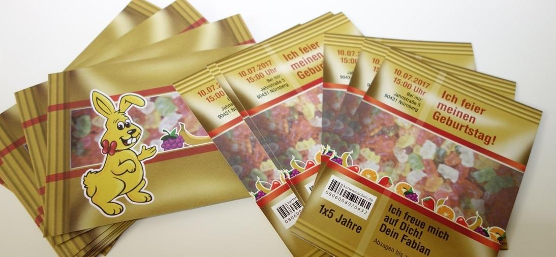 einladungskarten online bestellen bei kartenmachen.de | testgiraffe.de, Einladungsentwurf