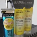 JOHN FRIEDA im Test: aufhellendes Shampoo + Conditioner + Kur aus der SHEER BLONDE-Serie