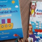 """Bücher """"Ausmalen & entdecken"""" und """"Mein kunterbuntes Ausschneide-Buch"""" im Test"""
