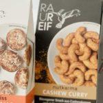 RAUREIF Biovegane Snacks im Test